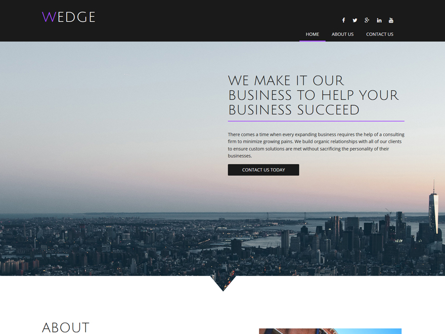 boldgrid wedge