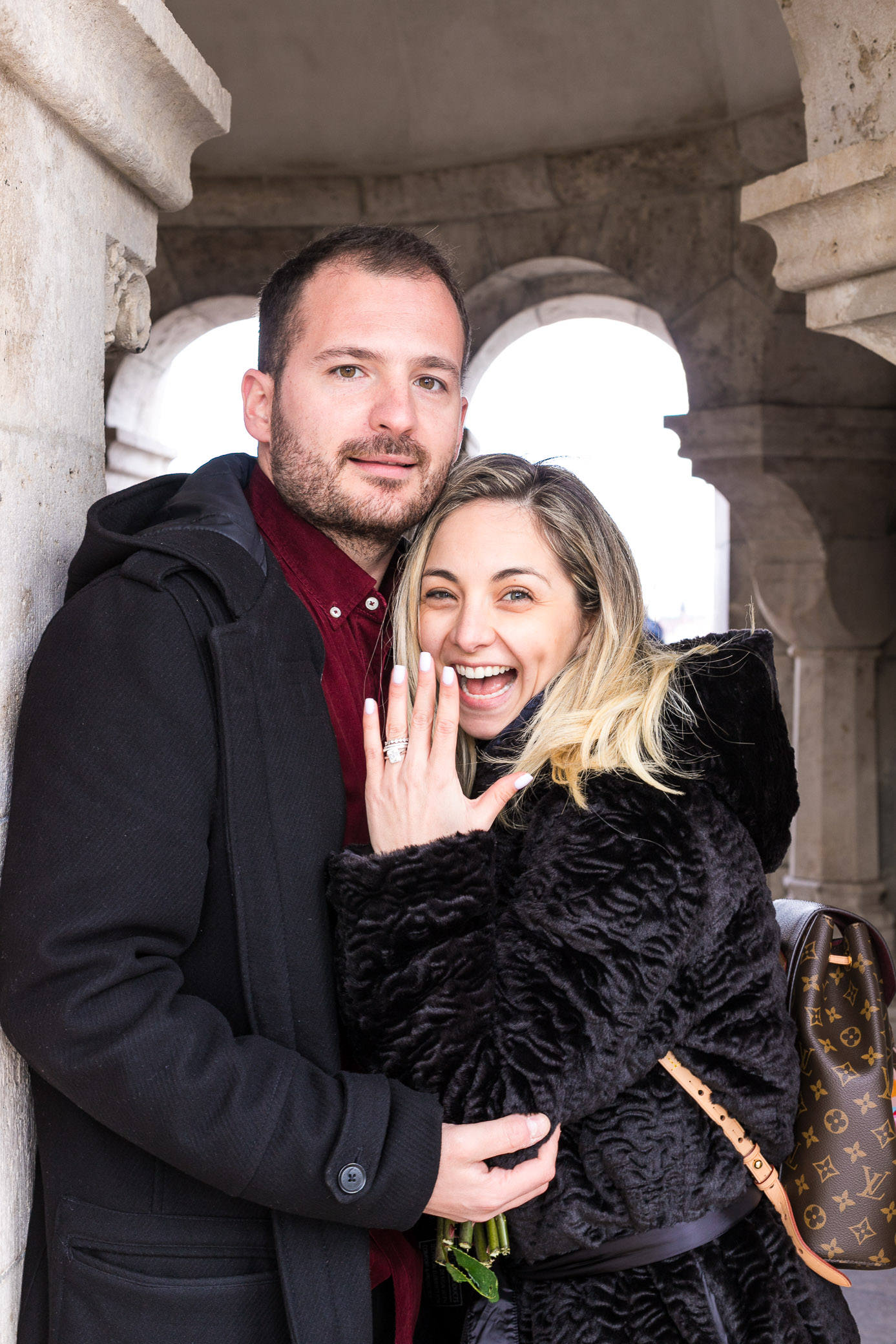 Fishermans Bastion engagement
