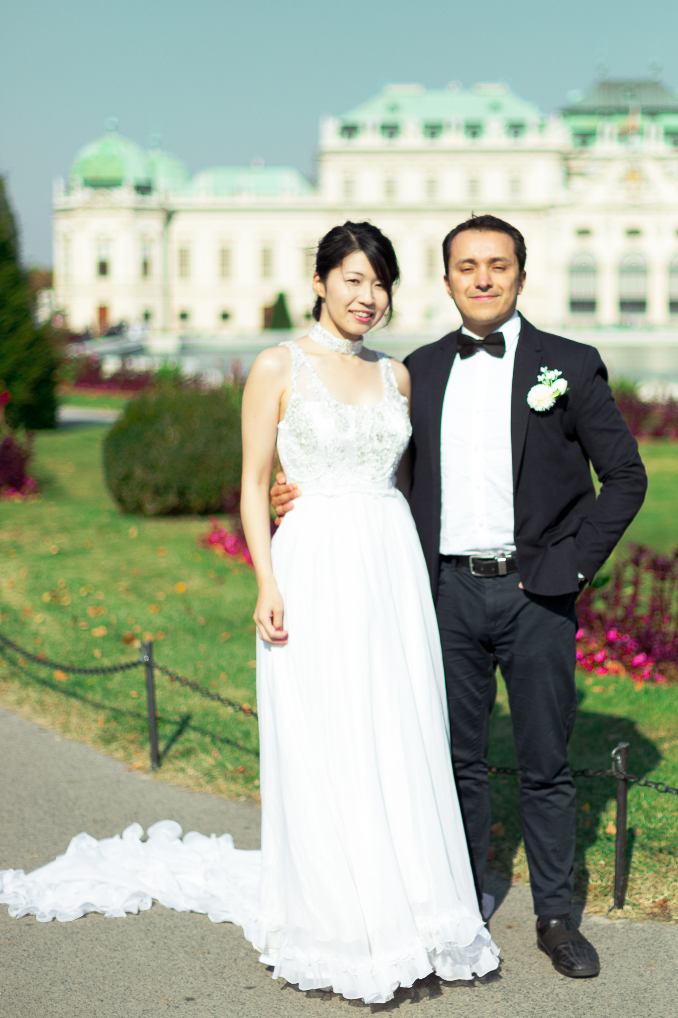 destination wedding photographer at Belvedere Castle