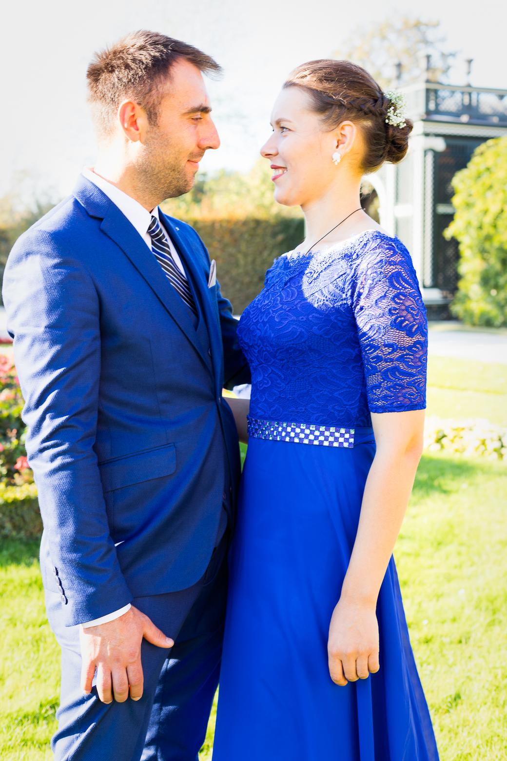 wedding guest at Schonbrunn Castle in Vienna