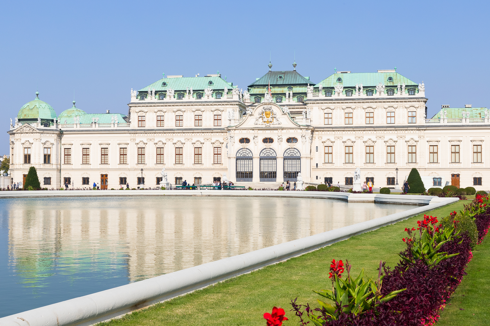 Belvedere Castle wedding venue in Vienna