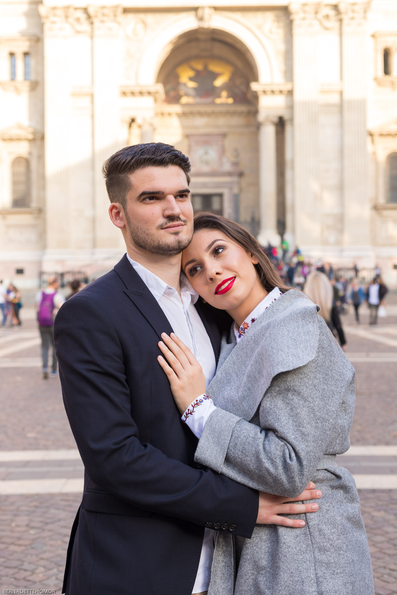 Basilica couple photo