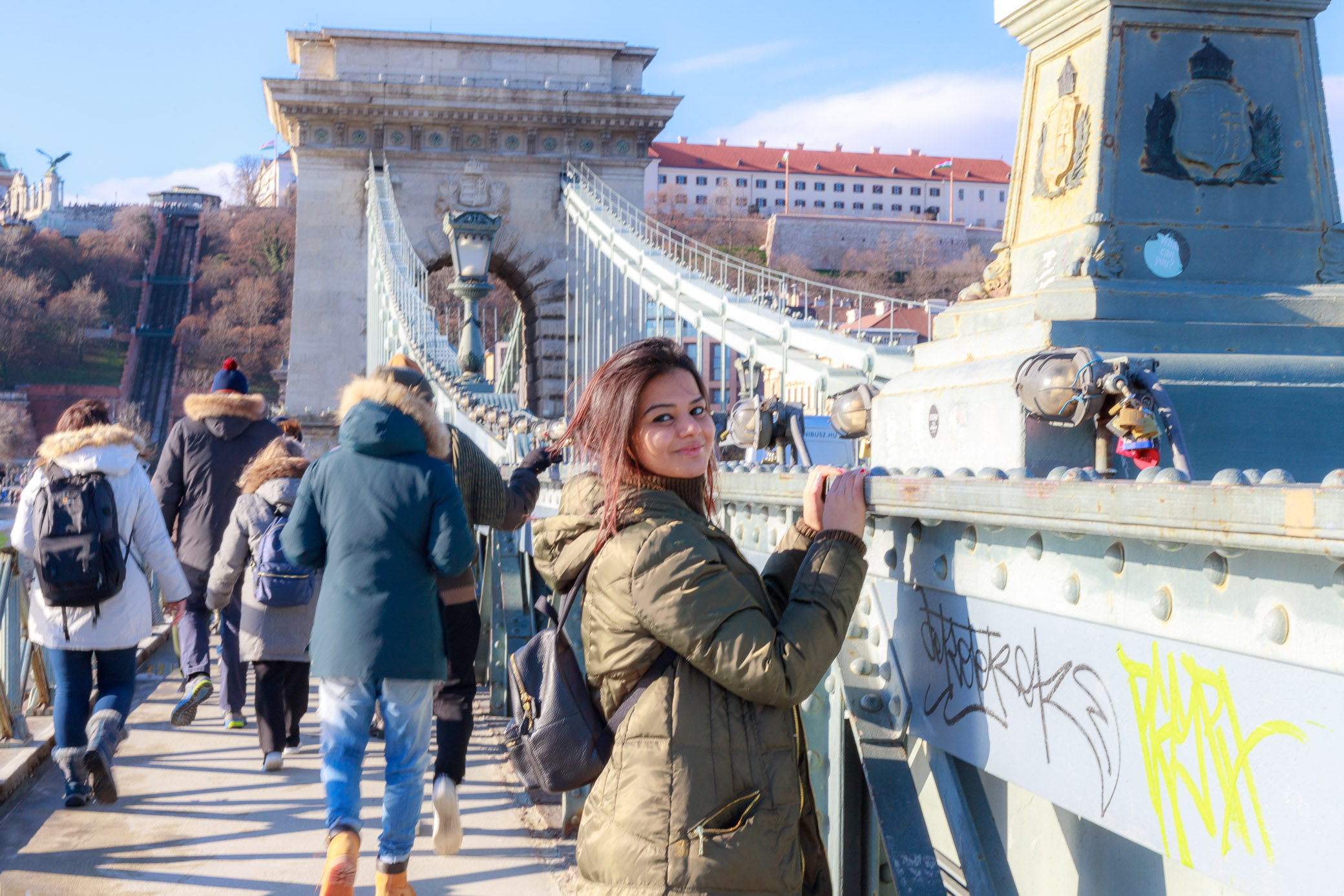 image of a girl in budapest