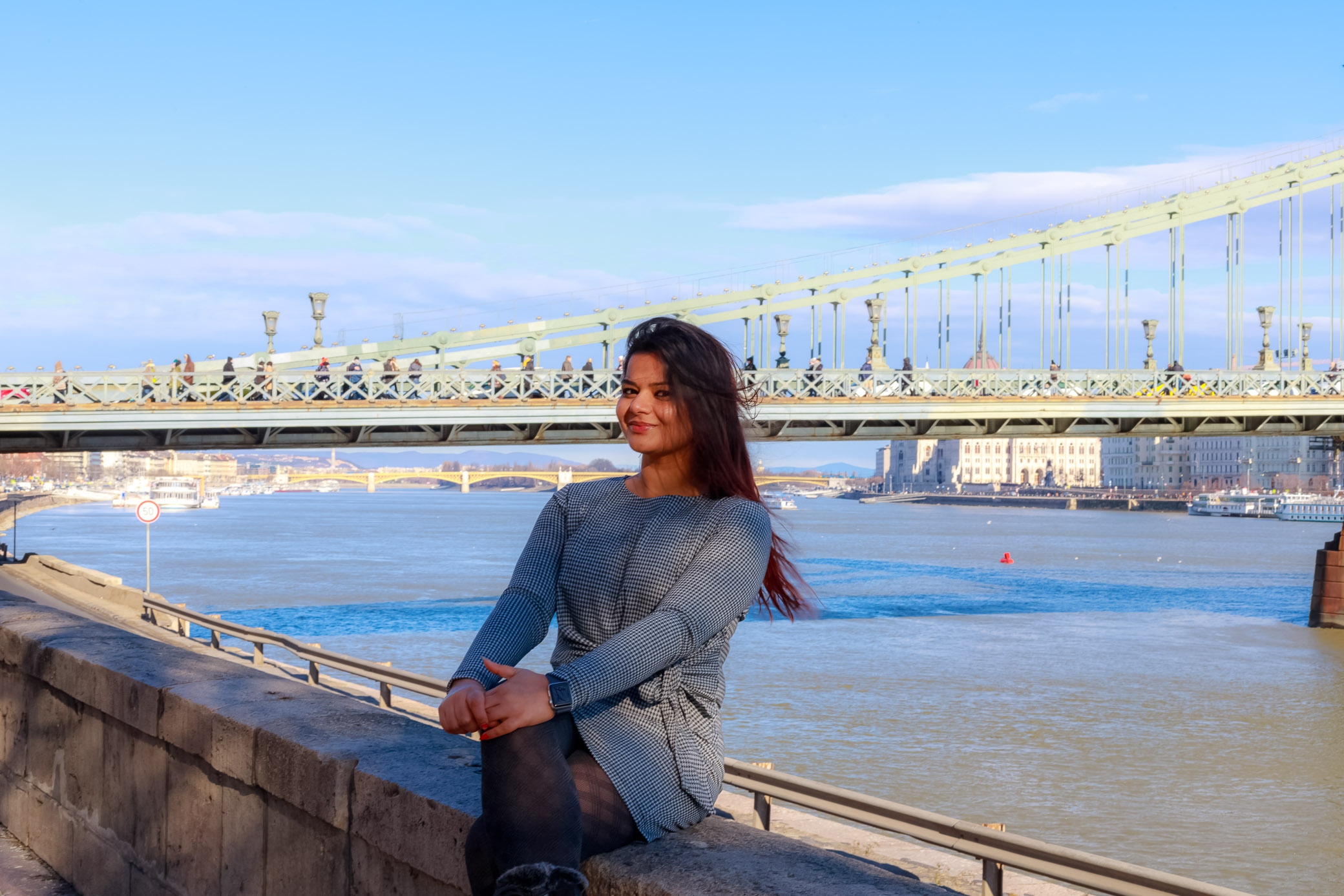 Danube river portrait