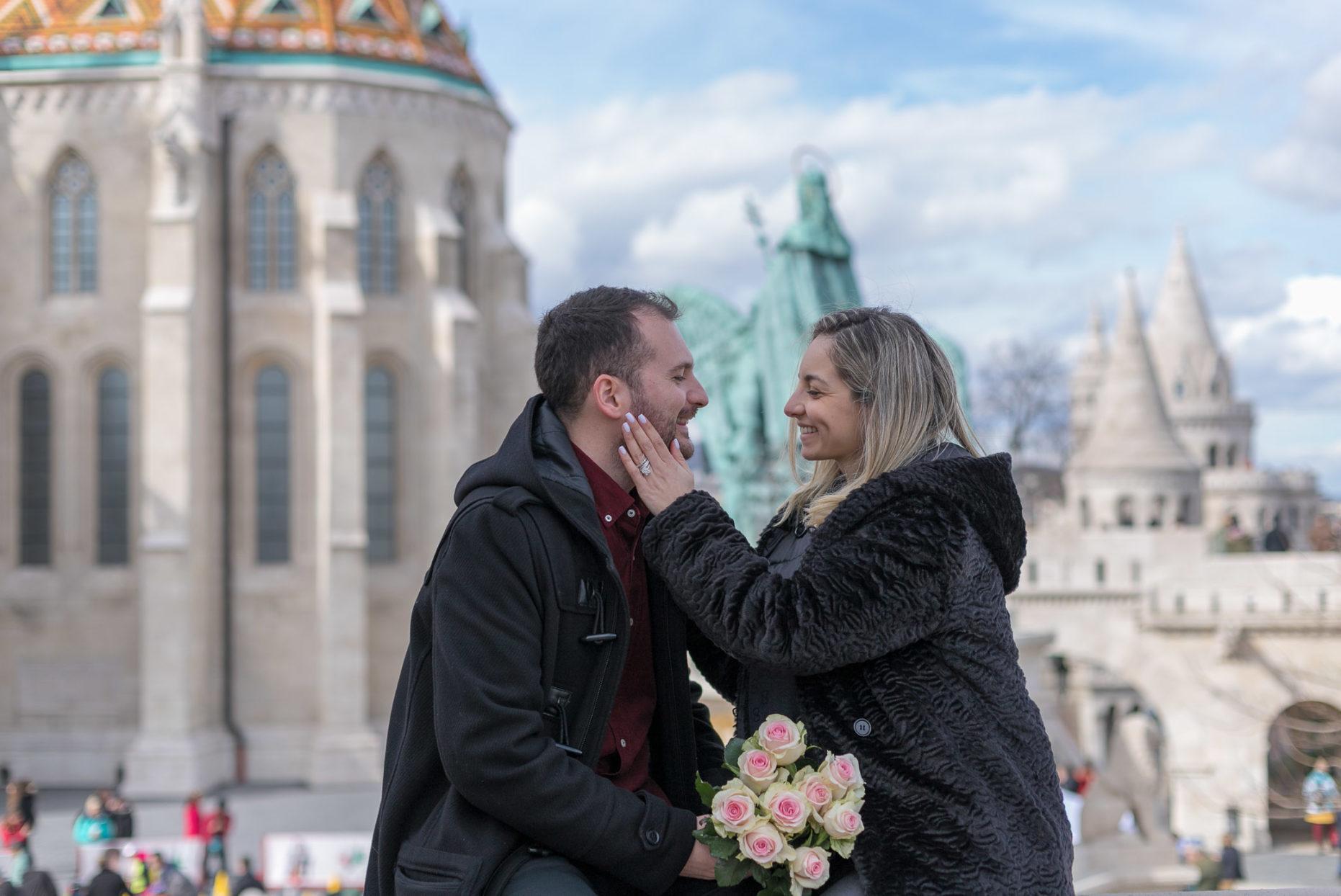 surprise proposal budapest