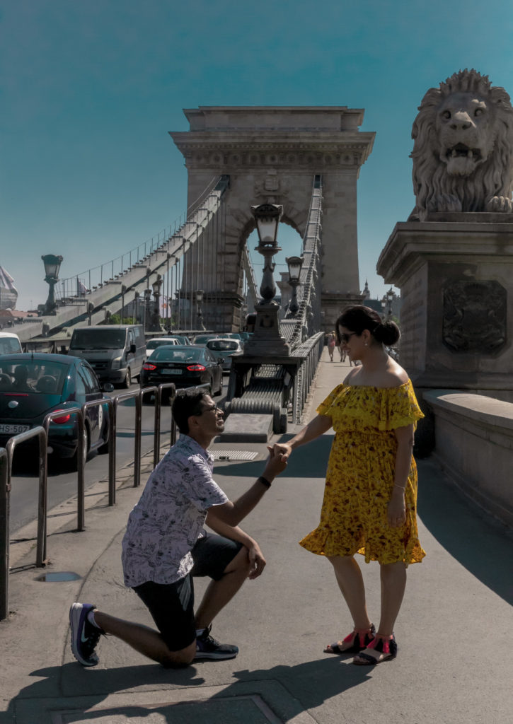 Marriage Proposal Budapest