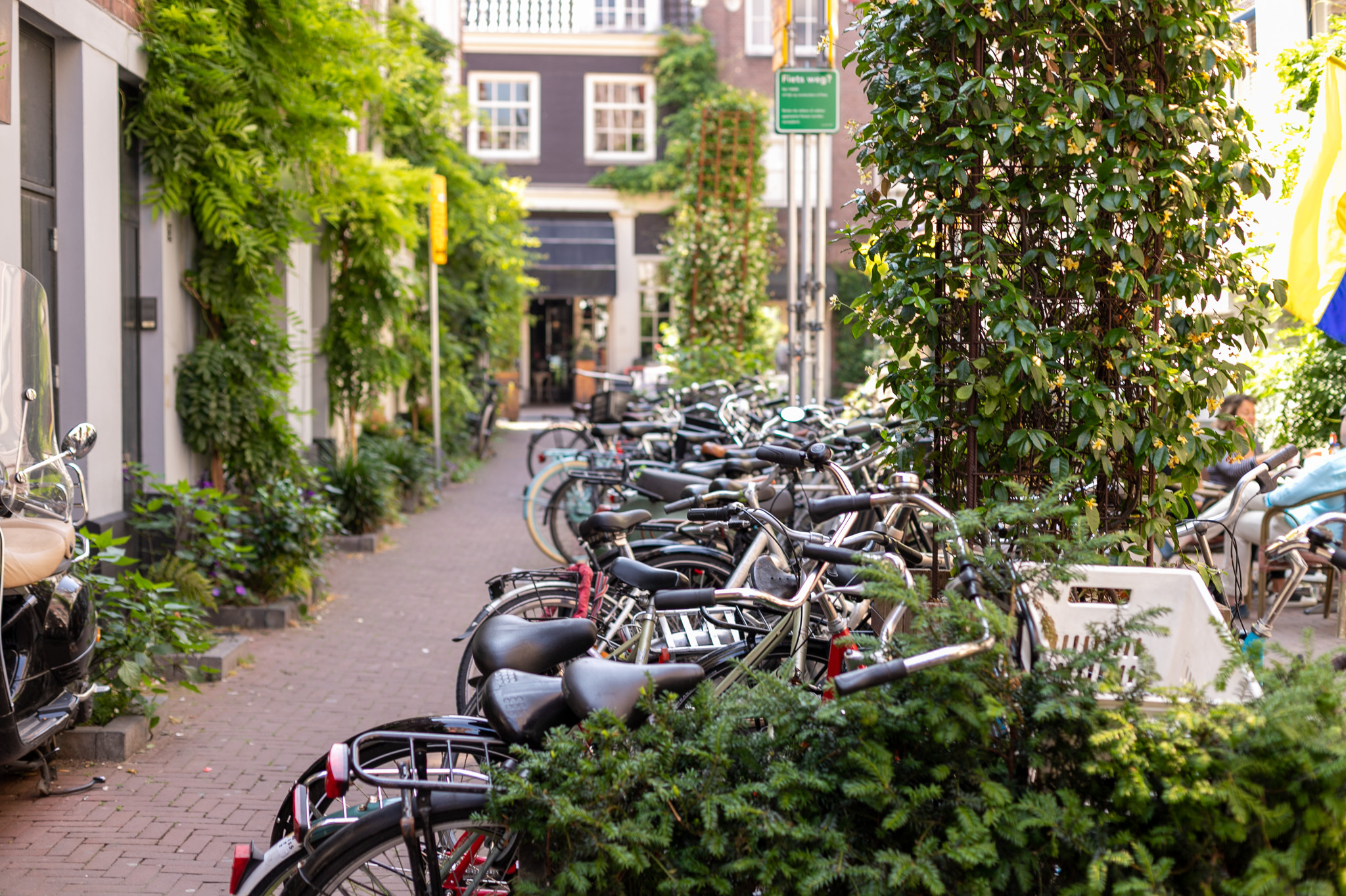 Bicycle parking Amsterdam