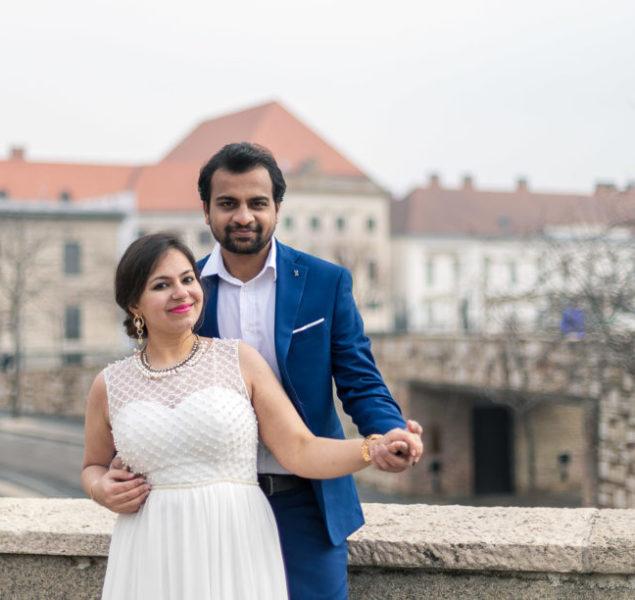Indian Couple Photoshoot Budapest