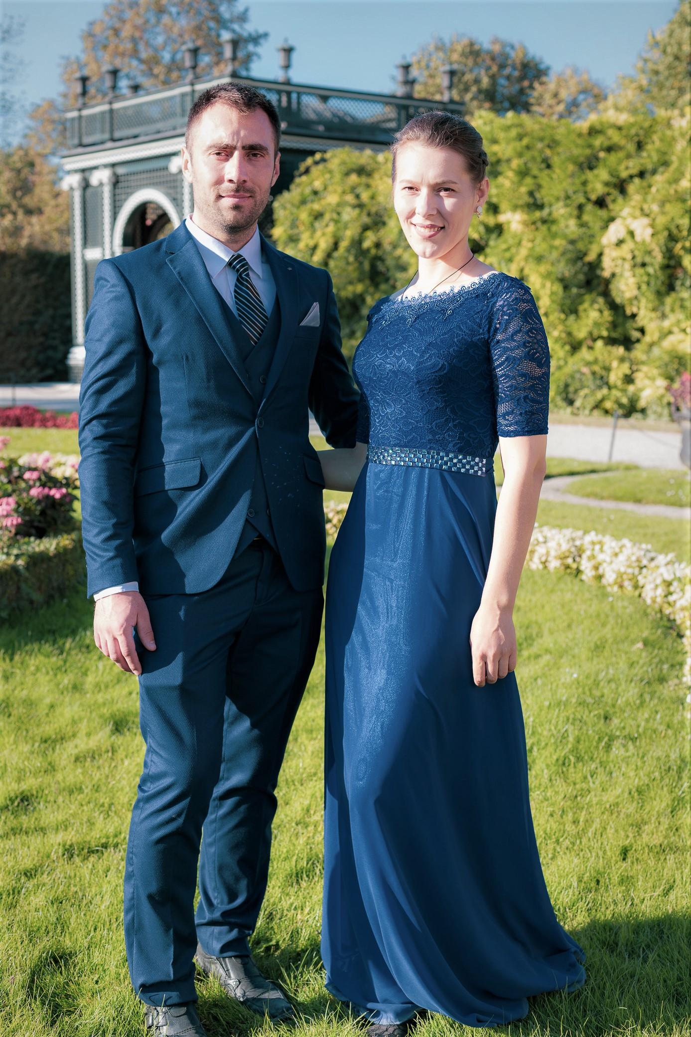 Schonbrunn palace wedding photographer